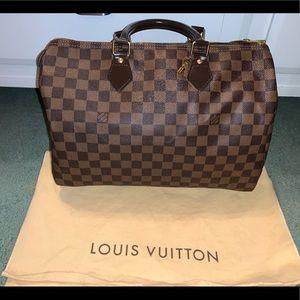 Louis Vuitton Ebene Speedy 35
